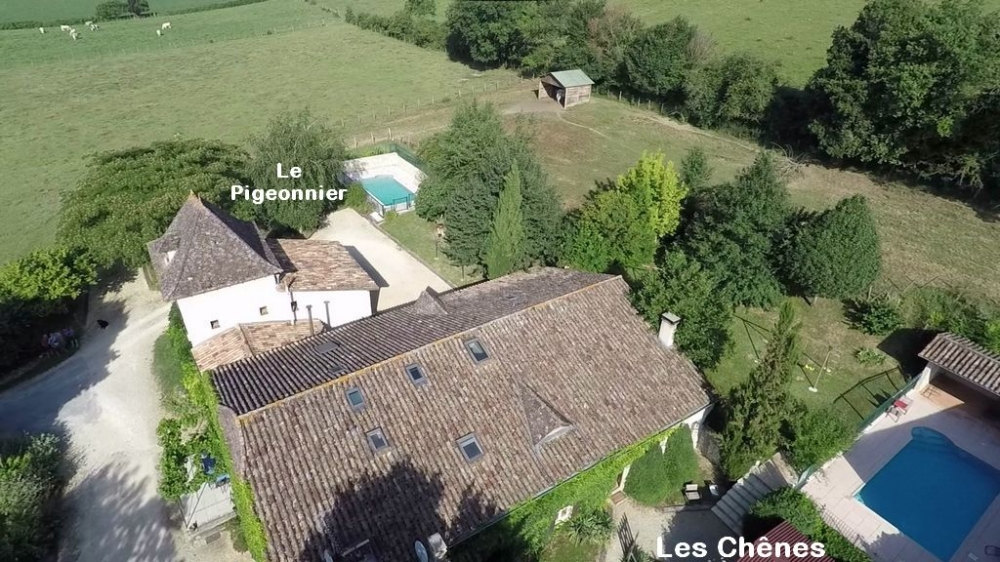 Beautiful Farmhouse Cottage Situated near Eymet, Dordogne - Les Chenes