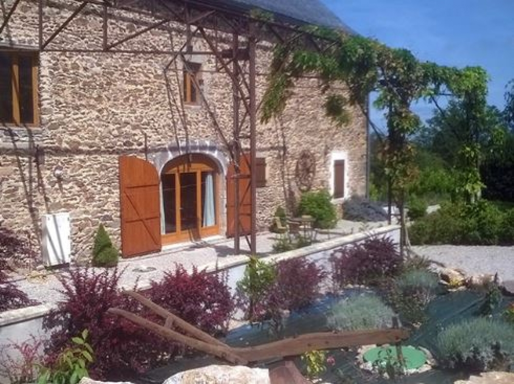 The Old Barn of Recoules - Charming Gite in Aveyron, Pyrenees, South West France