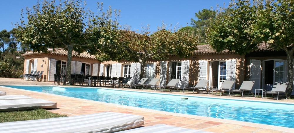 Breathtakingly Beautiful Private Villa In Saint Tropez with Pool and Private Beach Access