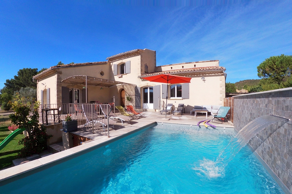 Beautiful House with Heated Pool and Panoramic Views in Provence, Aureille - Panorama des Alpilles