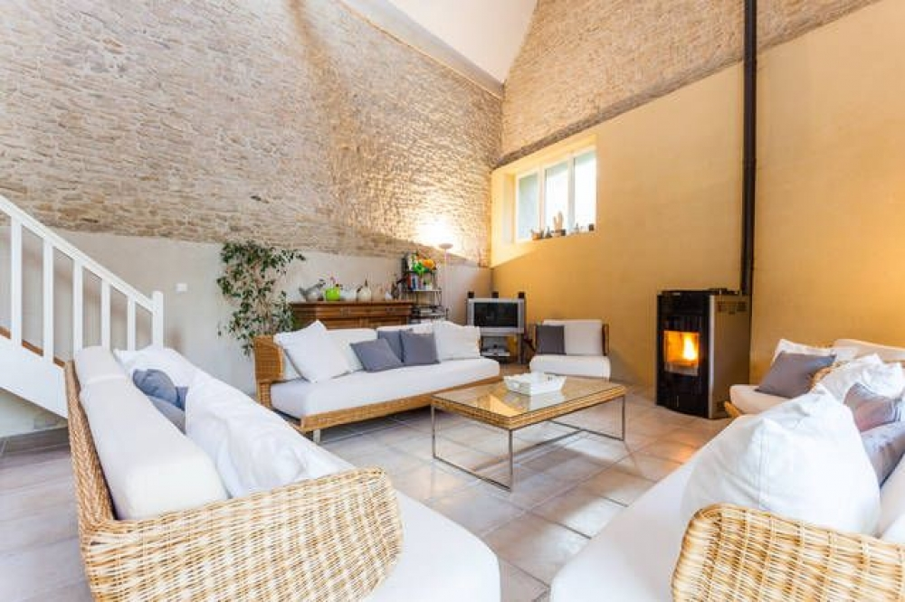 Beautiful and Chic Stone House 300M from the Sea in Luc sur Mer, Calvados, Normandy