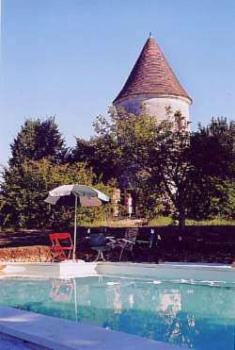 16th Century Tower Rental in Dordogne, Aquitaine, France