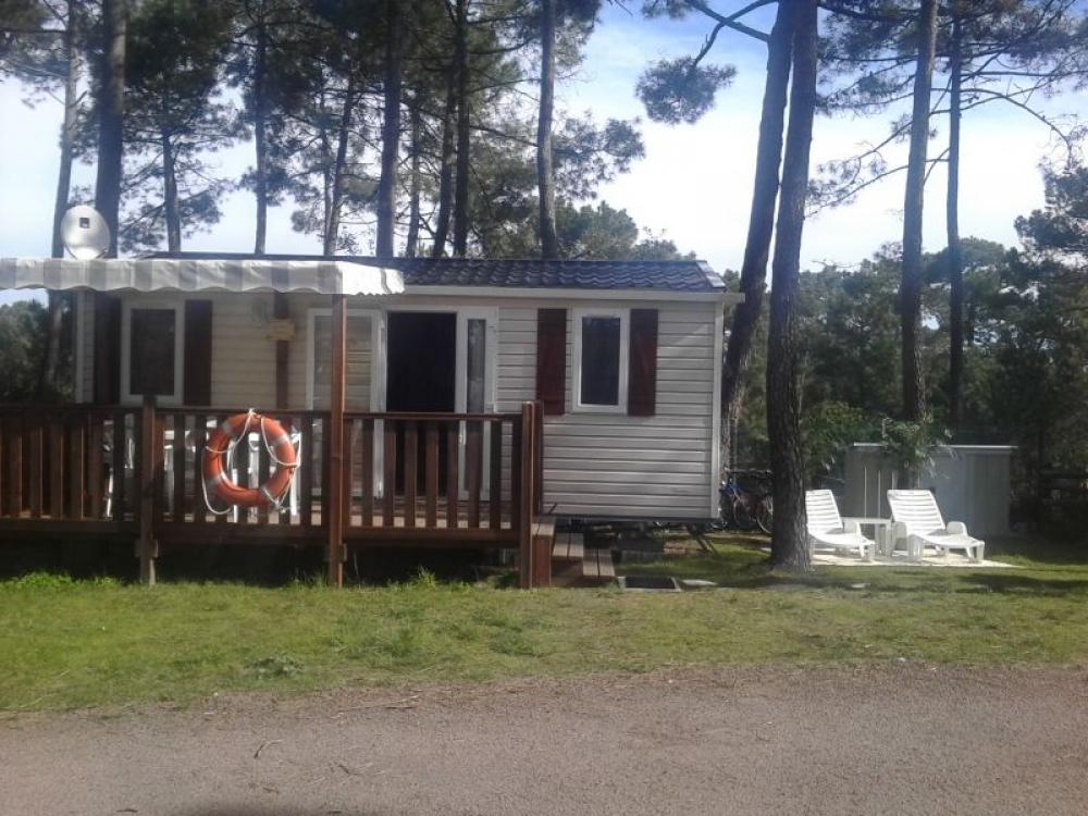Mobile Home in a charming pine forest on the edge of the Côte Sauvage, Charente-Maritime - La Palmyre