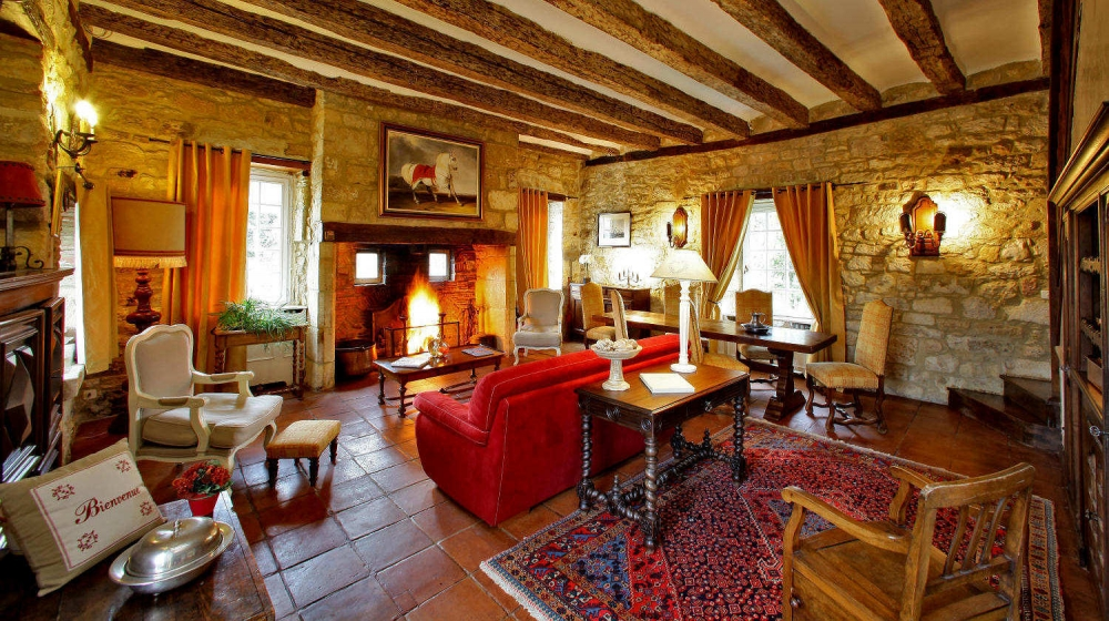 Le Presbytère 5* Manor with Heated Pool Near Sarlat, in the Dordogne Valley