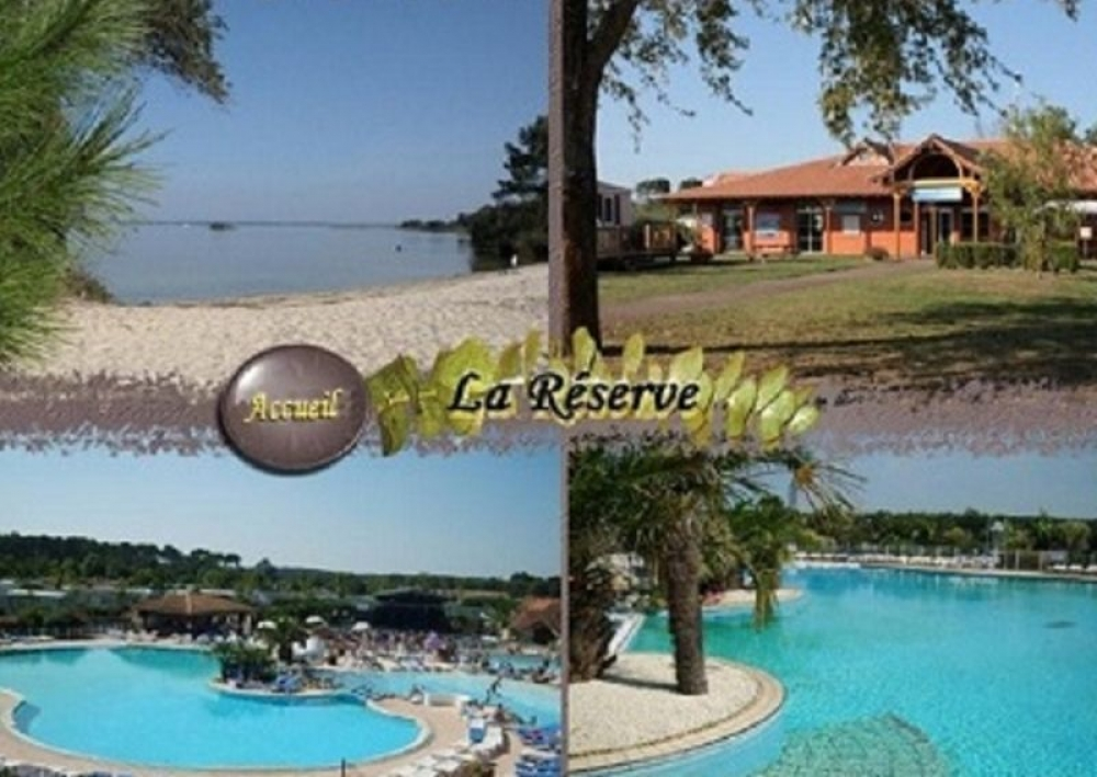 Great Family Friendly Mobile Home in Gastes, Landes, Aquitaine