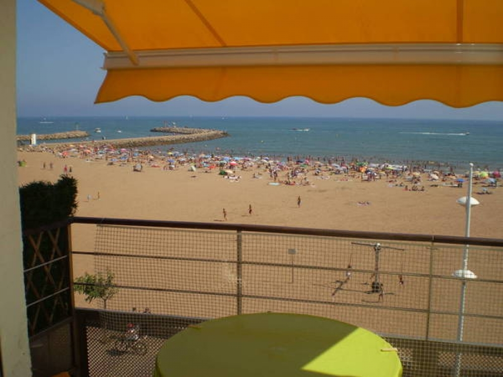 Beach Front Rental in Valras Plage