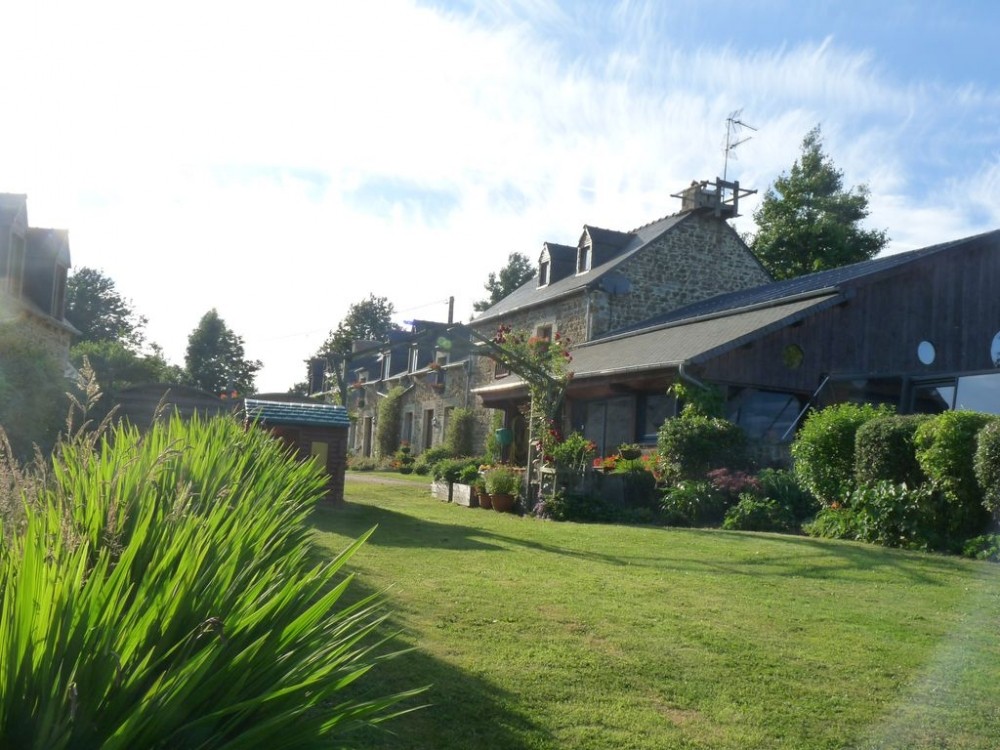 Charming and Spacious Gite with Indoor Pool at La Julerie in Corseul, Côtes-d'Armor, Brittany -  Les Ecuries.Disabled guest friendly