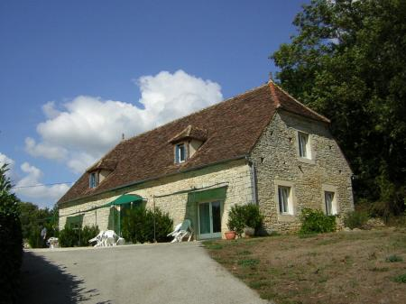 Salivac Holiday Rental Gite in Lot/Dordogne ~ Gite Hortensia