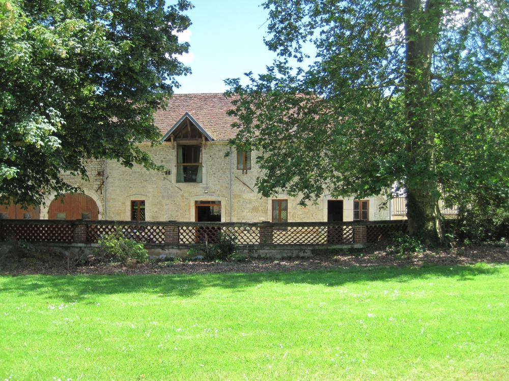 The Old Forge Building at Chateau de Serrigny - Near Chablis, Yonne, Burgundy