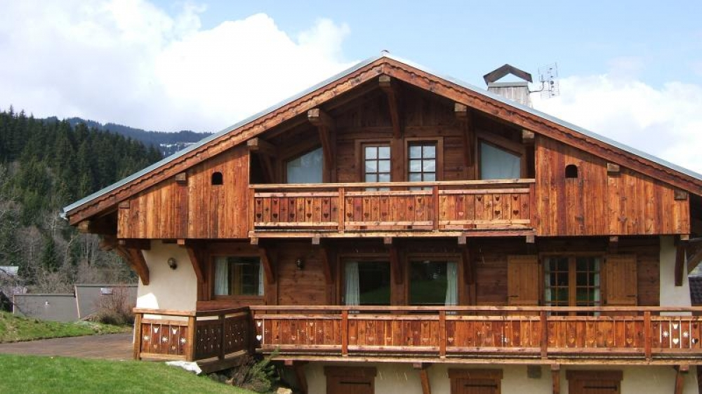 Saint-Gervais-les-Bains Chalet with Great Views of Mont Blanc