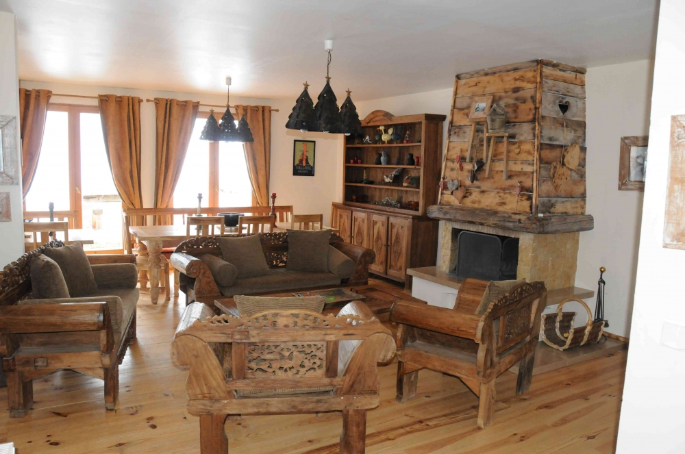 Big Beautiful Mountain Chalet Mountain in Valloire