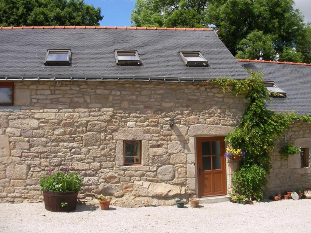 Lovely Holiday Cottage in Langoëlan, Morbihan, Brittany - Ty Megan