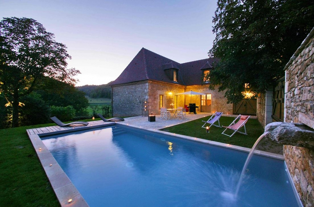 Luxury Home with Private Pool, Saint-Amand-de-Coly, Dordogne - La Forge, 5 Stars