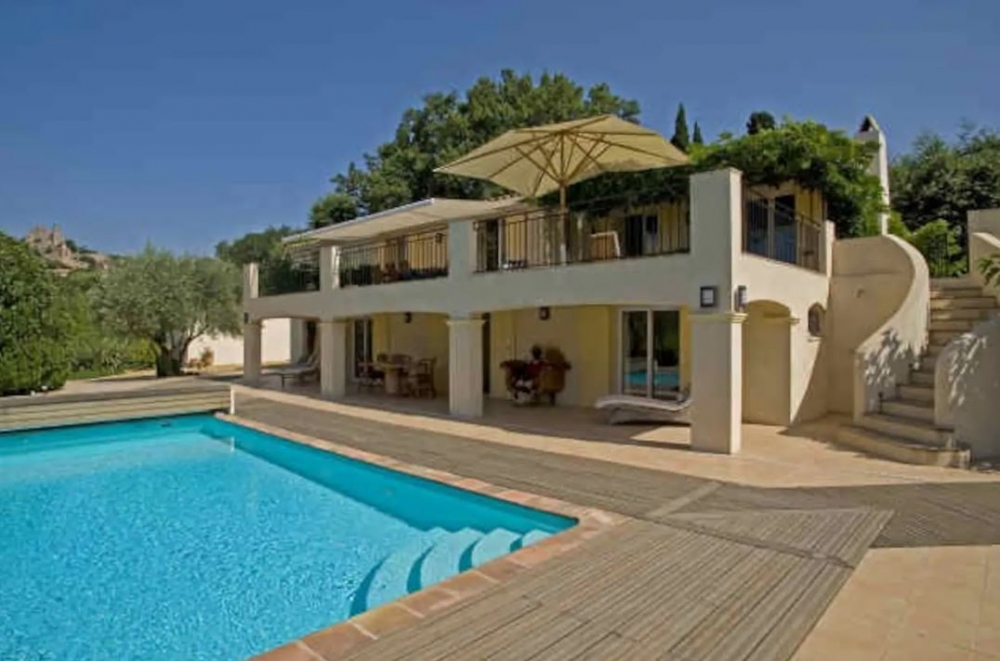 Luxurious Villa with Private Pool and Secluded Garden in Grimaud, Var