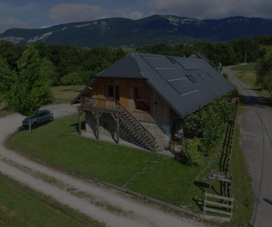 Holiday Cottage in Savoie, Montcel, near Aix les Bains and Lake Bourget - Gite Le Solant in Savoie  For 8 People