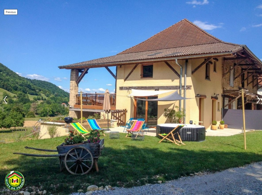 Beautiful Holiday Cottage in Saint-Pierre-de-Chartreuse, Isere