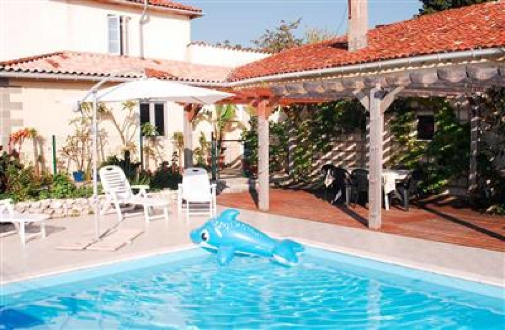 Spacious Gite with Private Heated Pool, Charente - Stunning Views in 14 Hectares