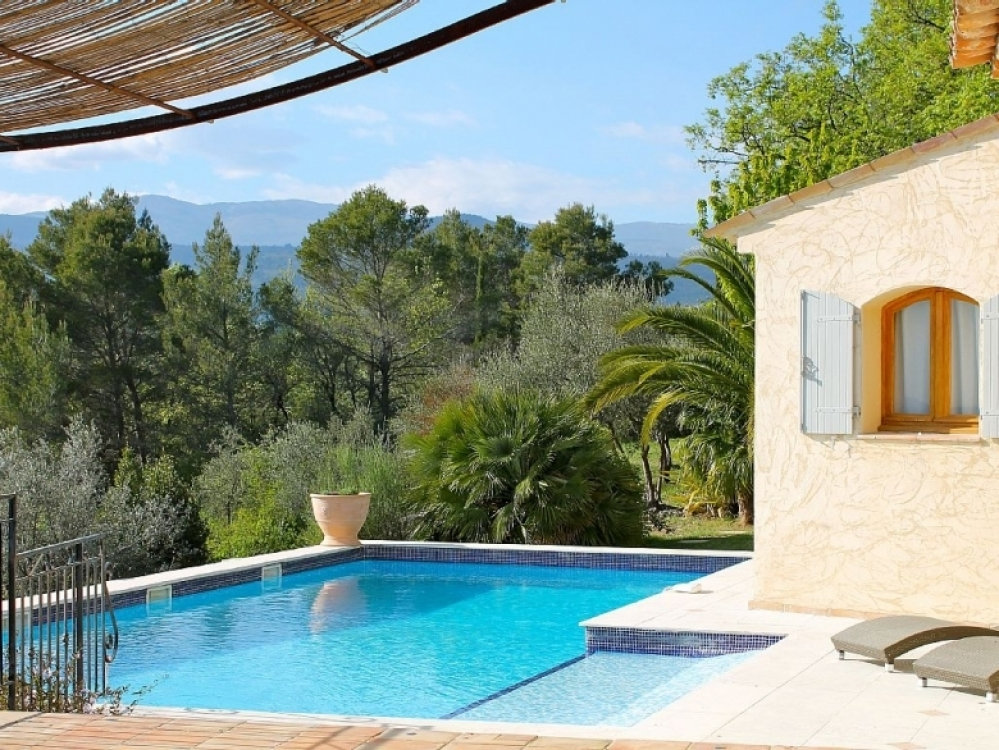 Villa Holiday Rental In Tourrettes near Fayence, Var, Provence - Jacaranda