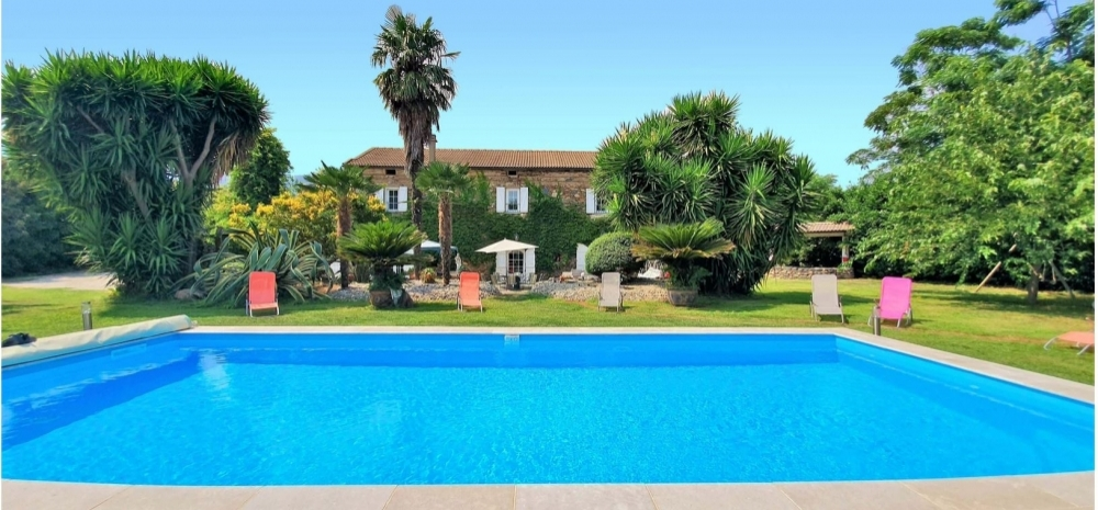 Large Typical Corsican House With Heated Swimming Pool, Near Moriani-Plage, Corsica