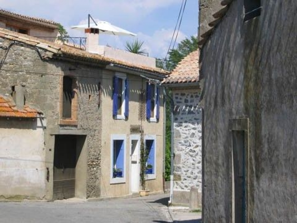 Lovely Village House Situated between the Aude River and the Famous Canal du Midi