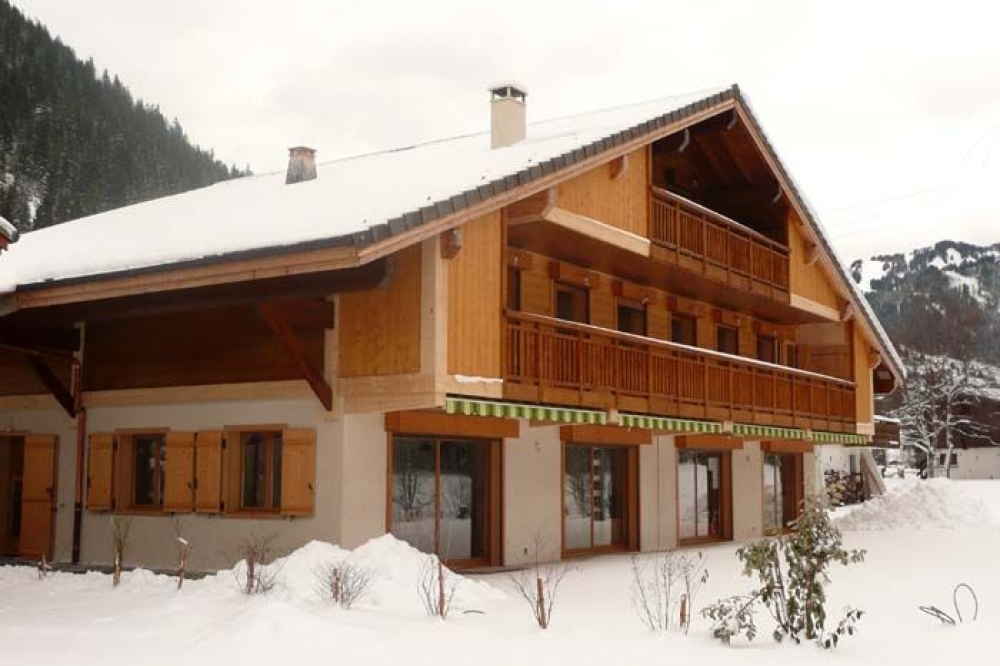 Chalet Located Between La Chapelle d'Abondance and Chatel