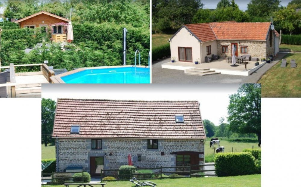 3 Self Catering Gites Situated just 25 minutes from Le Mont Saint Michel - Chalandrey, Manche