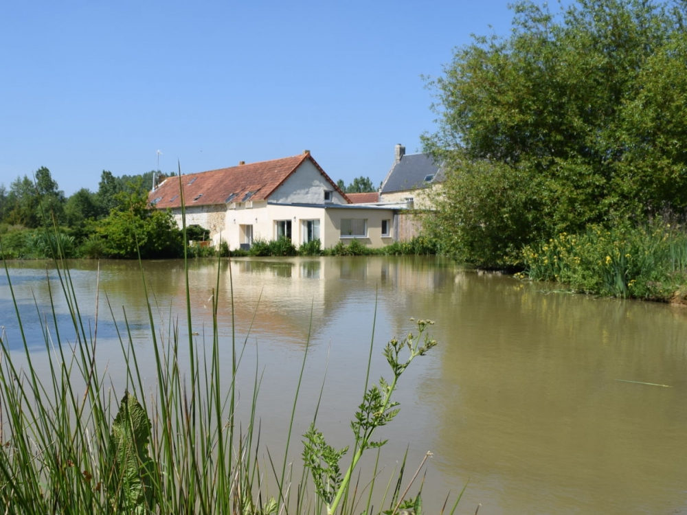 Holiday house in Manche, Near La Haye du Puits, Bayeux and the Mont St. Michel - Lakeside