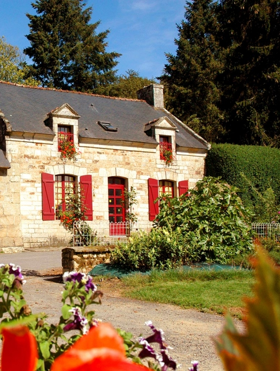 Superb Farmhouse with Heated Swimming Pool in Morbihan, Near Baud - Le Puits 1