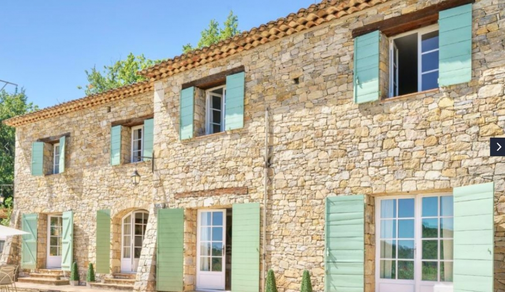 4 bedroom Stone Villa with Heated Pool in Figanières - Bastide des Esperels