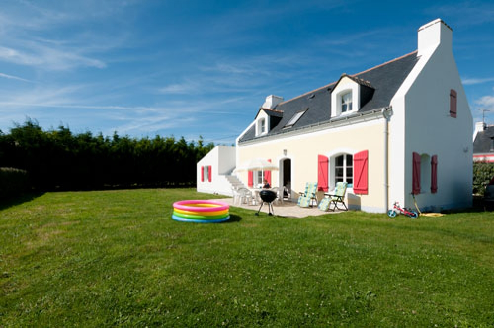 Independent 2 STAR House in Bordenec'h, a small hamlet near Bangor