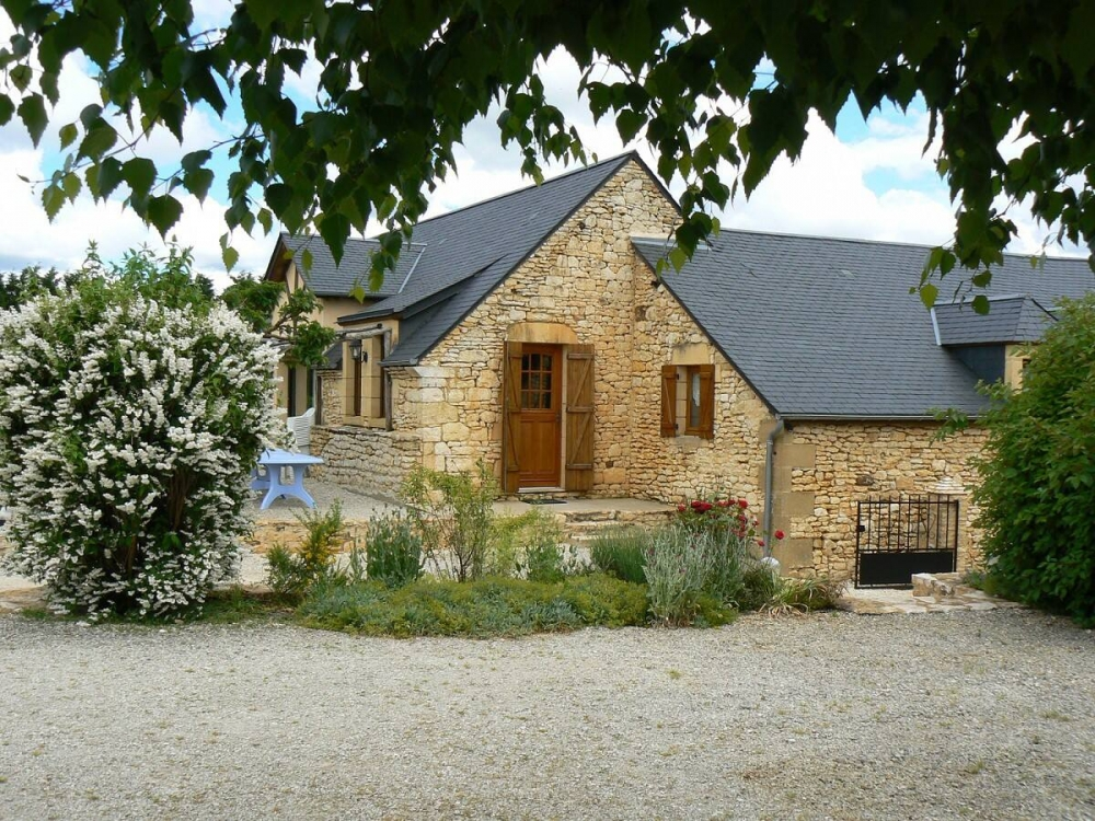 Joseph's barn - 4-star Character Cottage with Private Swimming Pool in Jayac, Dordogne