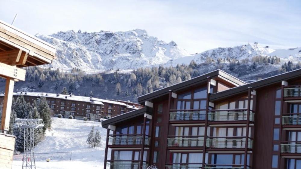 Les Arcs Studio Apartment with Views of Mont Blanc