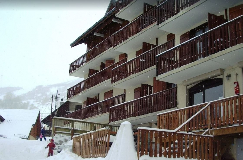 Bright Saint-Sorlin-d'Arves Apartment in Savoie - Direct Access To The Slopes