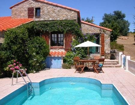 2 bedroom Self Catering Holiday Villa in Castelnou, Pyrenees-Orientales
