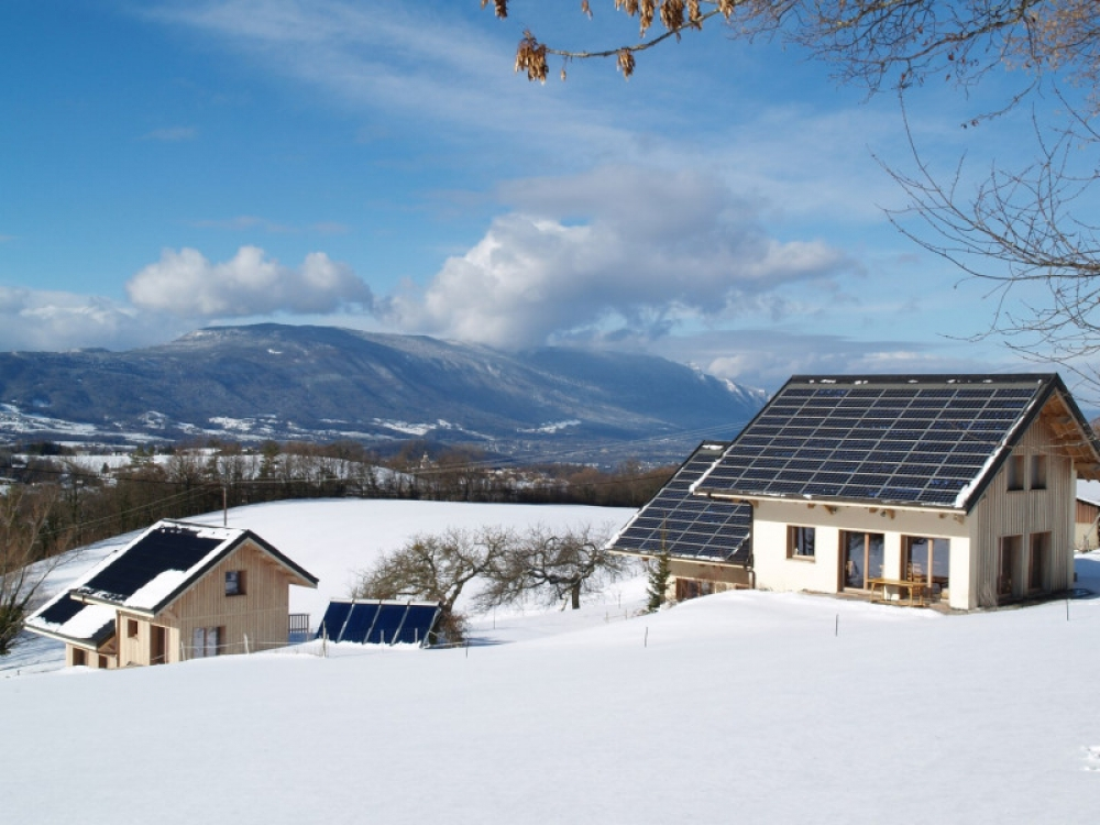 Charming New-Built Cottages, 7km from the center of Chambéry, Stunning Views - LA GRANGE AUX EQUUREUILS