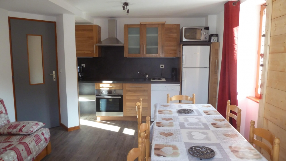 Four Bedrooms Apartment rental in Valmeinier - 62 m² for 8 people with covered terrace