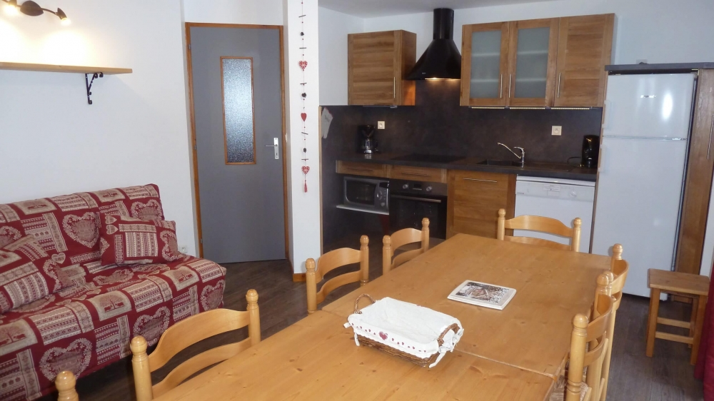 Holiday Apartment in Valmeinier - Four bedrooms, with terrace  65 m², 10 people