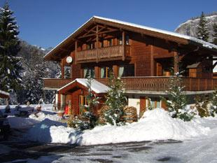 Catered ski chalet accommodation near Morzine, Portes du Soleil