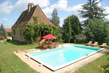 Stunning Self Catering Cottage to rent with Private Pool in Marminiac, Lot Valley, France