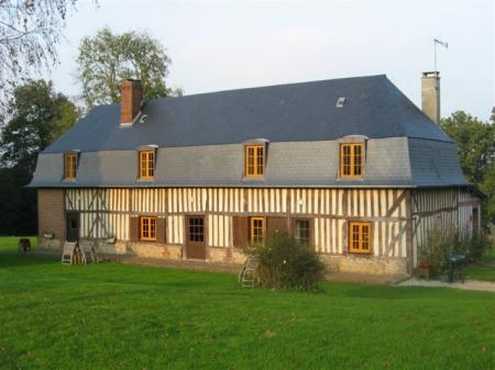 Holiday rental cottage Saint Gervais, near Deauville, Eure, Normandy