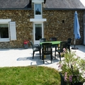 A Renovated 1930's Gite With Large Courtyard and Garden, Moelan-sur-Mer, Finistere, France