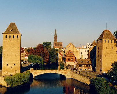 Strasbourg is the capital of the Alsace region and has over 700,000 inhabitants.